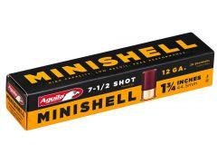 """1C128968 Aguila Minishell 12 Ga 1.75"""" 5/8 oz 7.5 Shot"""