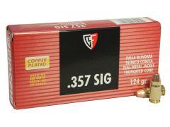 Fiocchi .357 Sig 124 Grain FMJ (Case)
