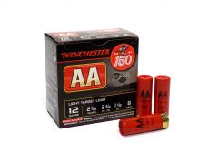"Winchester AA 12 Ga 2-3/4"" 1-1/8 Oz 8 Shot No.8 Light Target Load Case AA128 (Case)"