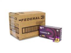 Federal Premium 9mm 124 Gr Syntech Training Match TSJ (Case)
