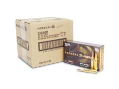 GM308M Federal Gold Medal Match 308 Winchester 168 Grain SMK BTHP