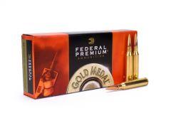 Federal Gold Medal 338 Lapua Mag 250 Grain Sierra MatchKing BTHP Case GM338LM-CASE