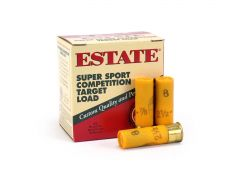 Estate Super Sport Target 20 Gauge 2-3/4 7/8 Oz No. 8 Shot (Case)