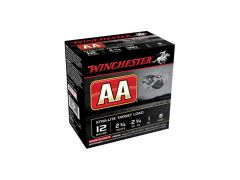 "Winchester AA 12 Ga 2-3/4"" 1 Oz No.8 Shot Xtra-Lite Target Load (Case)"