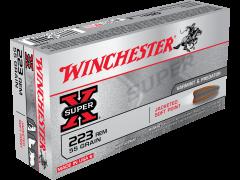 Winchester Super-X 20 Rounds 223 Remington 55 Grain JSP Ammo